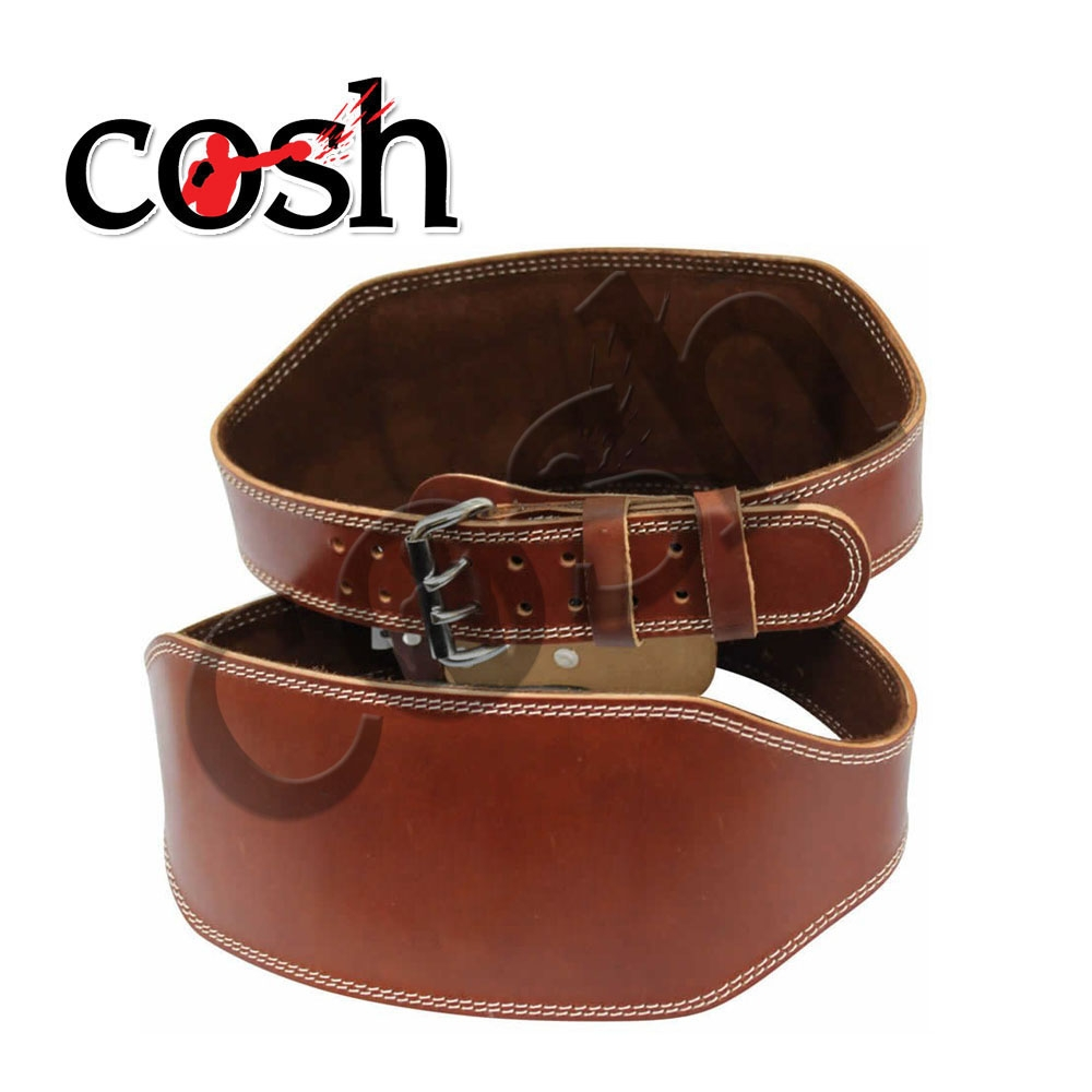 Fitness Exercise Leather Fitness Belt By Cosh