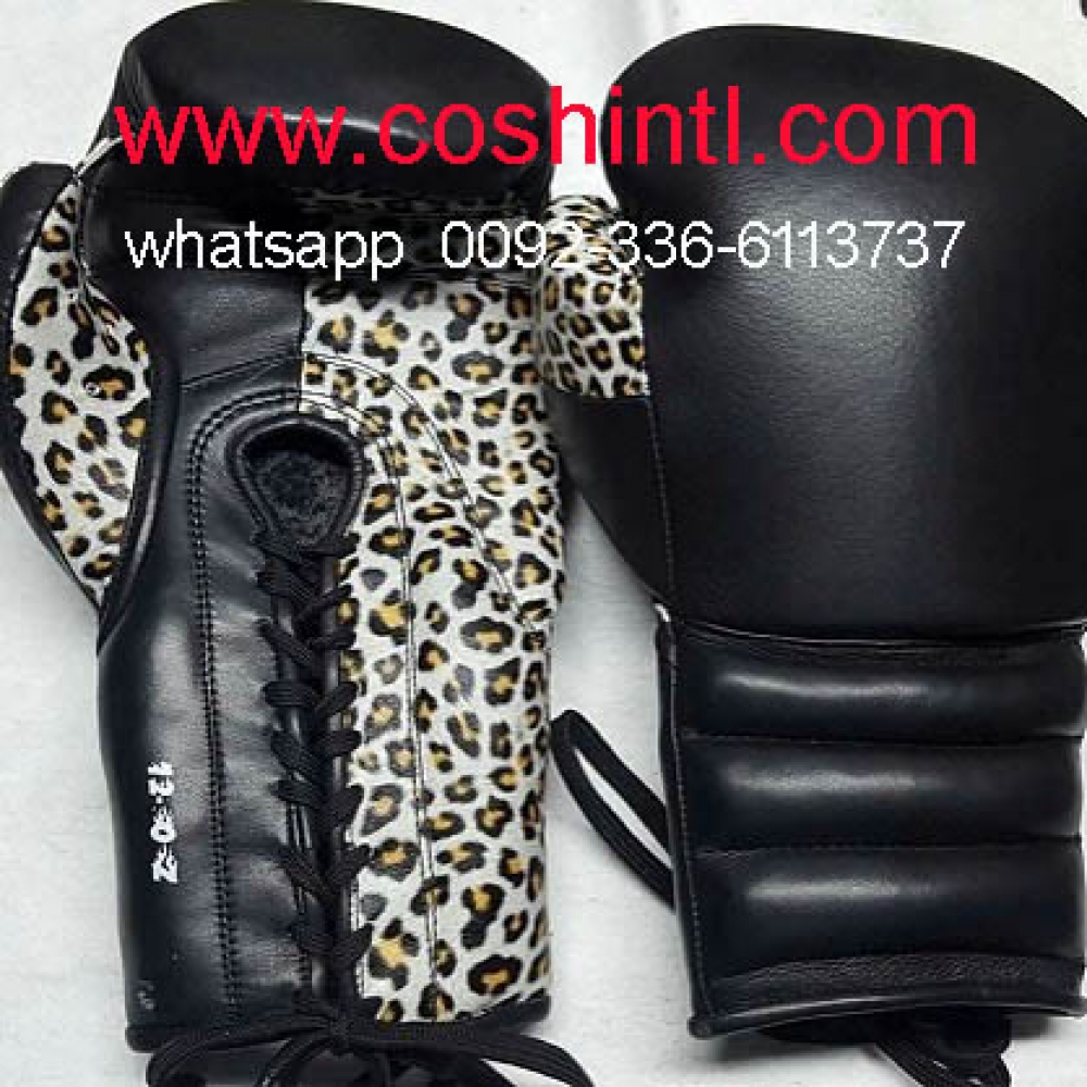 Real Leather Mexican Boxing Gloves Manufacturer