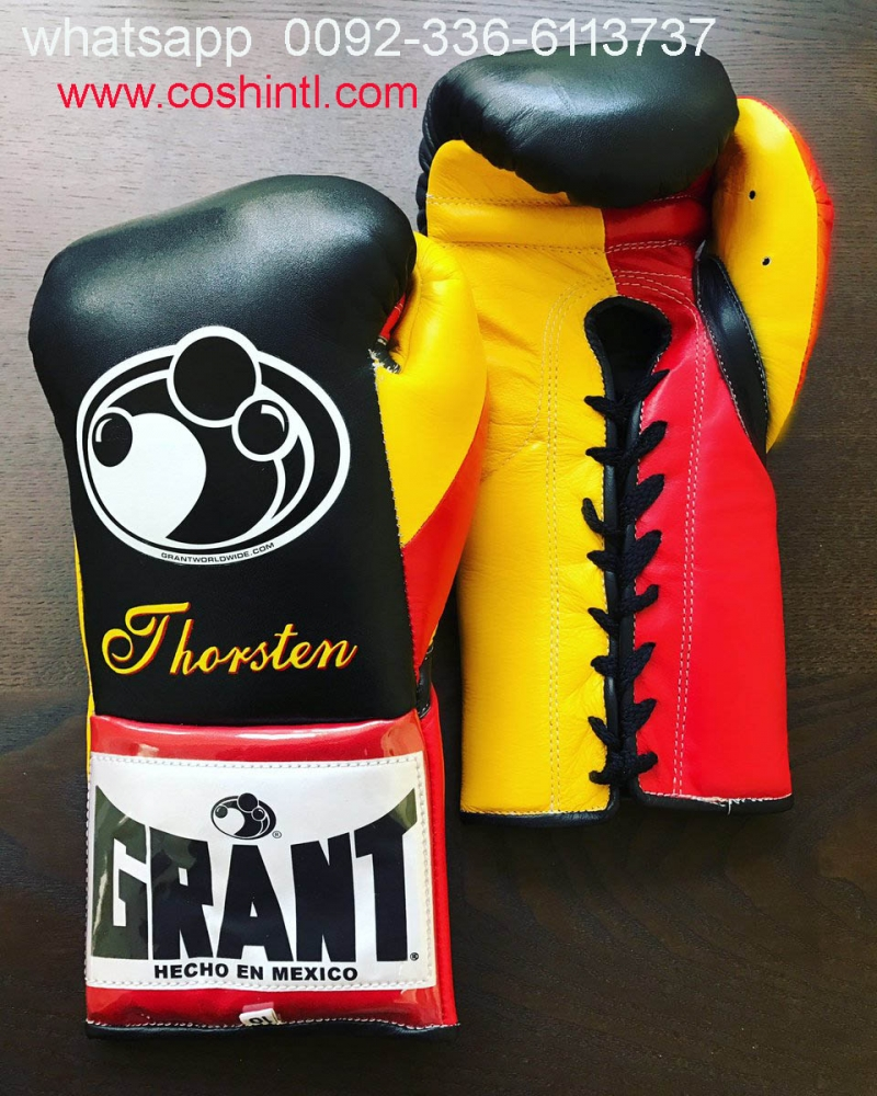 Cow Leather Grant Boxing Gloves Maker
