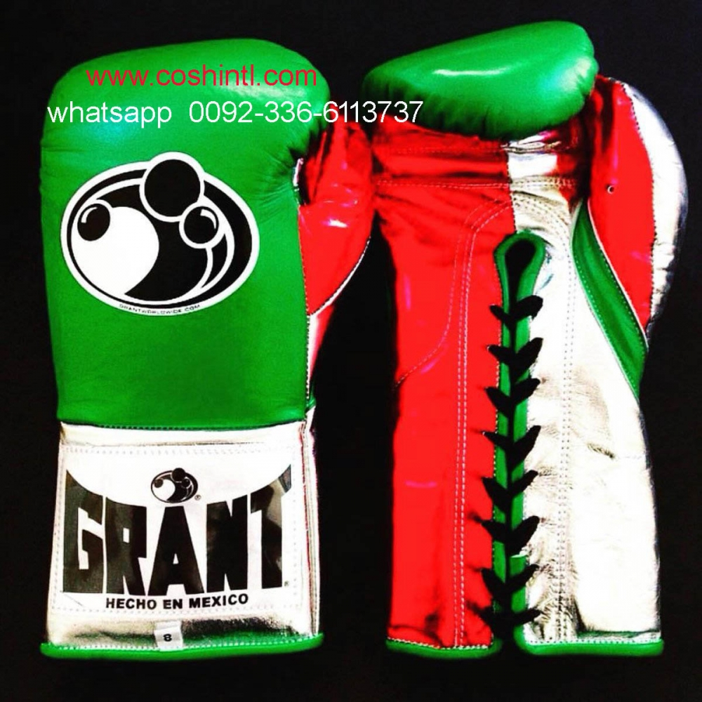 Wholesale Important Leather Mexican Boxing Gloves