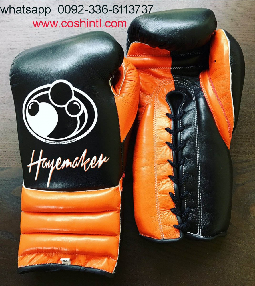 High Quality Leather Grant Boxing Gloves