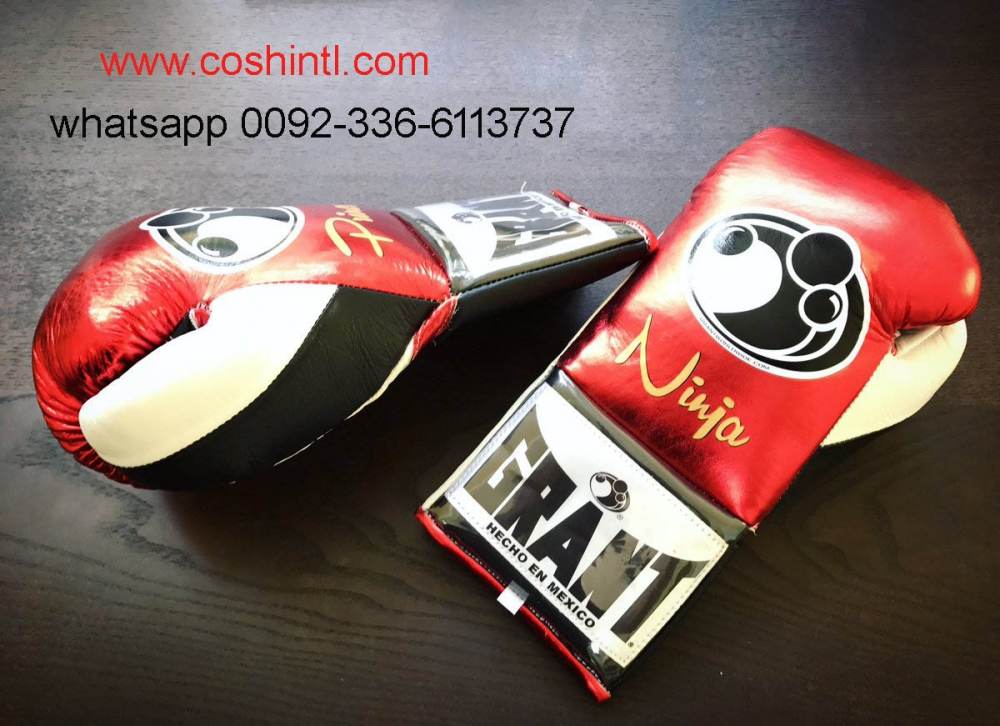Genuine Leather Mexican Grant Boxing Gloves Supplier