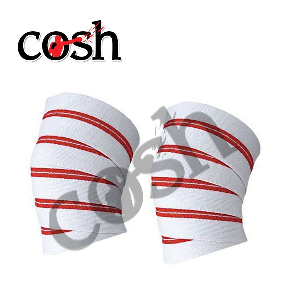 Knee Wraps Straps Compression Sleeve For Bodybuilding , Weight Lifting And Crossfit