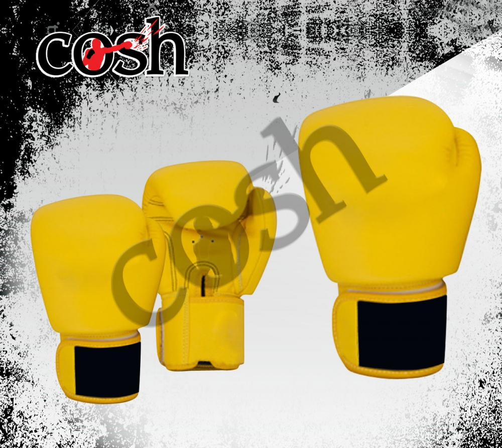 Yellow Boxing Gloves Suppliers Cosh International