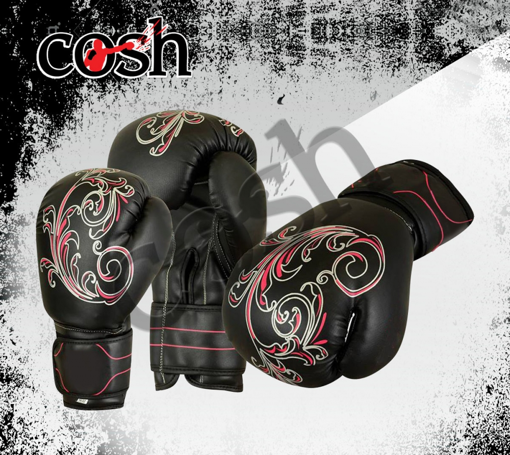 Latest Design Customized Leather Boxing Gloves